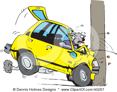 Crash clipart crashed car Car Accident Crash cliparts Clipart