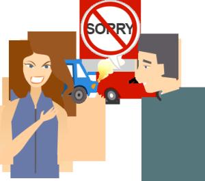 Crash clipart fault Car Never even Was What
