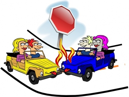 Wreck clipart incident Download on  Car Car