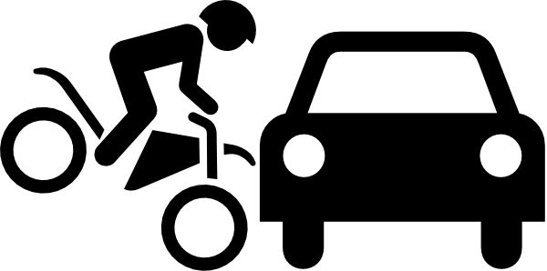 Bike clipart female cyclist Clip Accident Accident ClipArt Clipart
