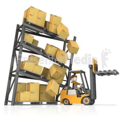 Crash clipart forklift Clip and PowerPoint Crash School