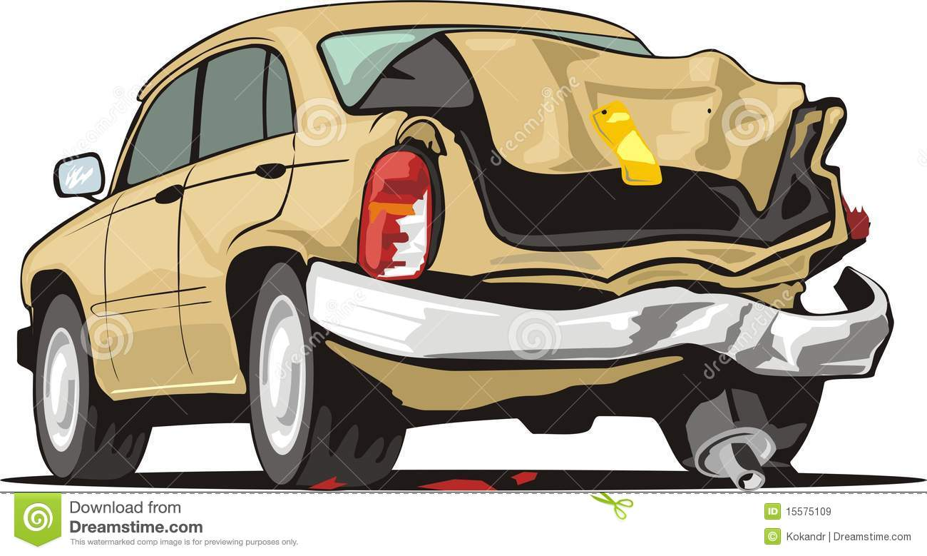 Crash clipart crashed car Old Collection car Crash Clipart