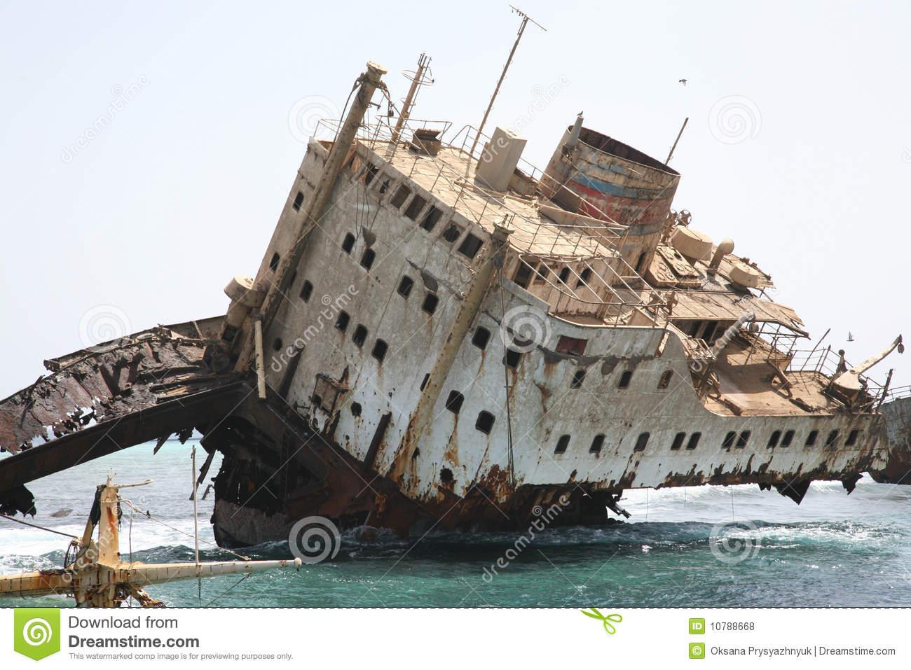 Wreck clipart wrecked ship #9