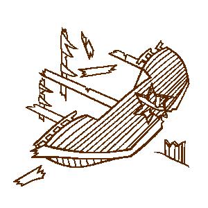Wreck clipart wrecked ship #11