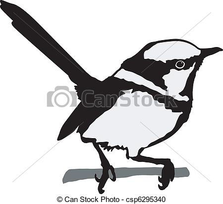 Wren clipart Wren vector wren 58 silhouette