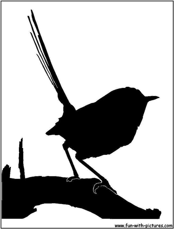 Wren clipart free bird Silhouette Best on Wren Bird