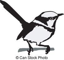 Wren clipart irish EPS wren Wren silhouette Wren
