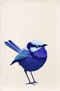 Wren clipart irish Hand http: drawn Klein's Blue