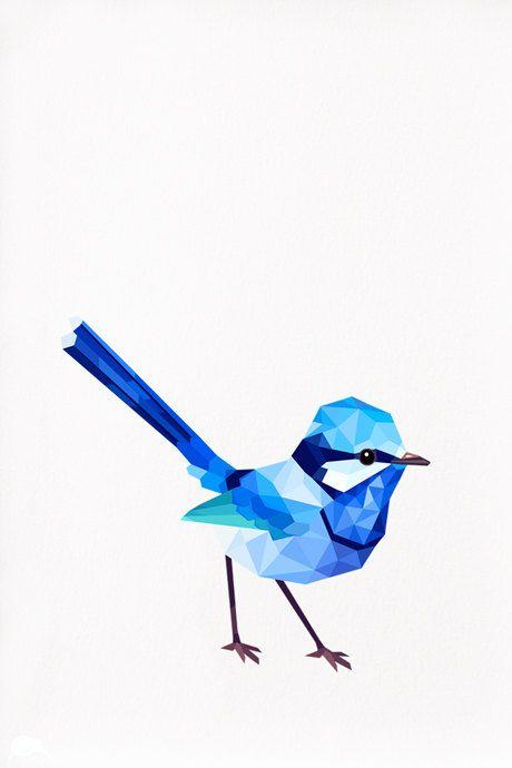Wren clipart robin bird Best wren TinyKiwiCreations 25+ Geometric