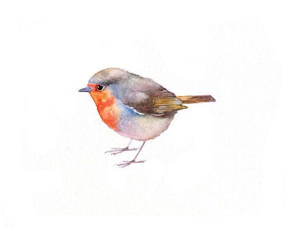 Wren clipart robin bird $35 Watercolor BirdmanArt 00 Best