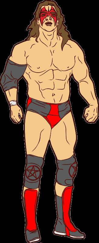 Wrestler clipart Wrestling you on for art