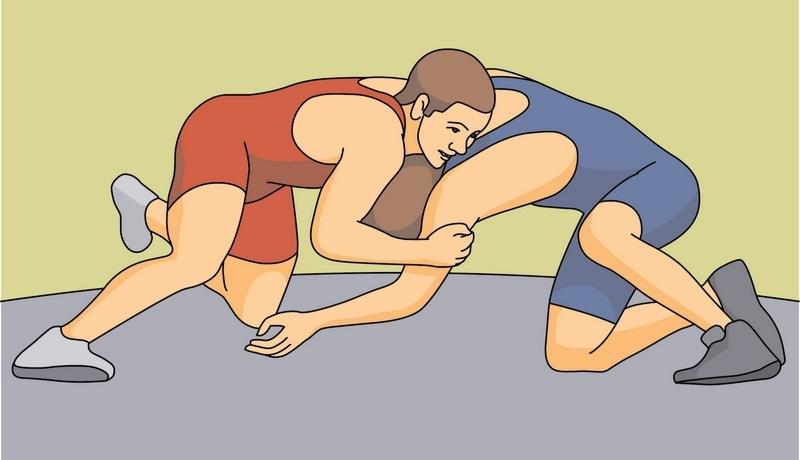 Wrestler clipart boy Clipart art Wrestler cliparts Clipart