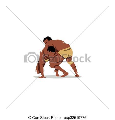 Wrestler clipart kushti Vector Illustration Illustration Illustration Vector