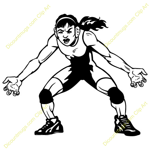 Wrestler clipart kushti Pro Clipart Womanwrestler Wrestling China