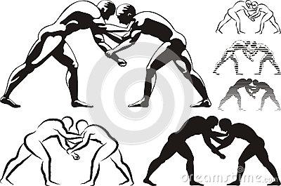 Wrestler clipart kushti Held of day mp Index