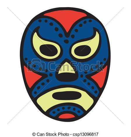 Wrestler clipart lucha libre Libre Mask wrestling of Mask