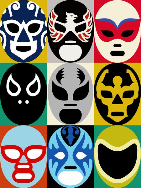 Wrestler clipart lucha libre Libre! Art about Pinterest 2
