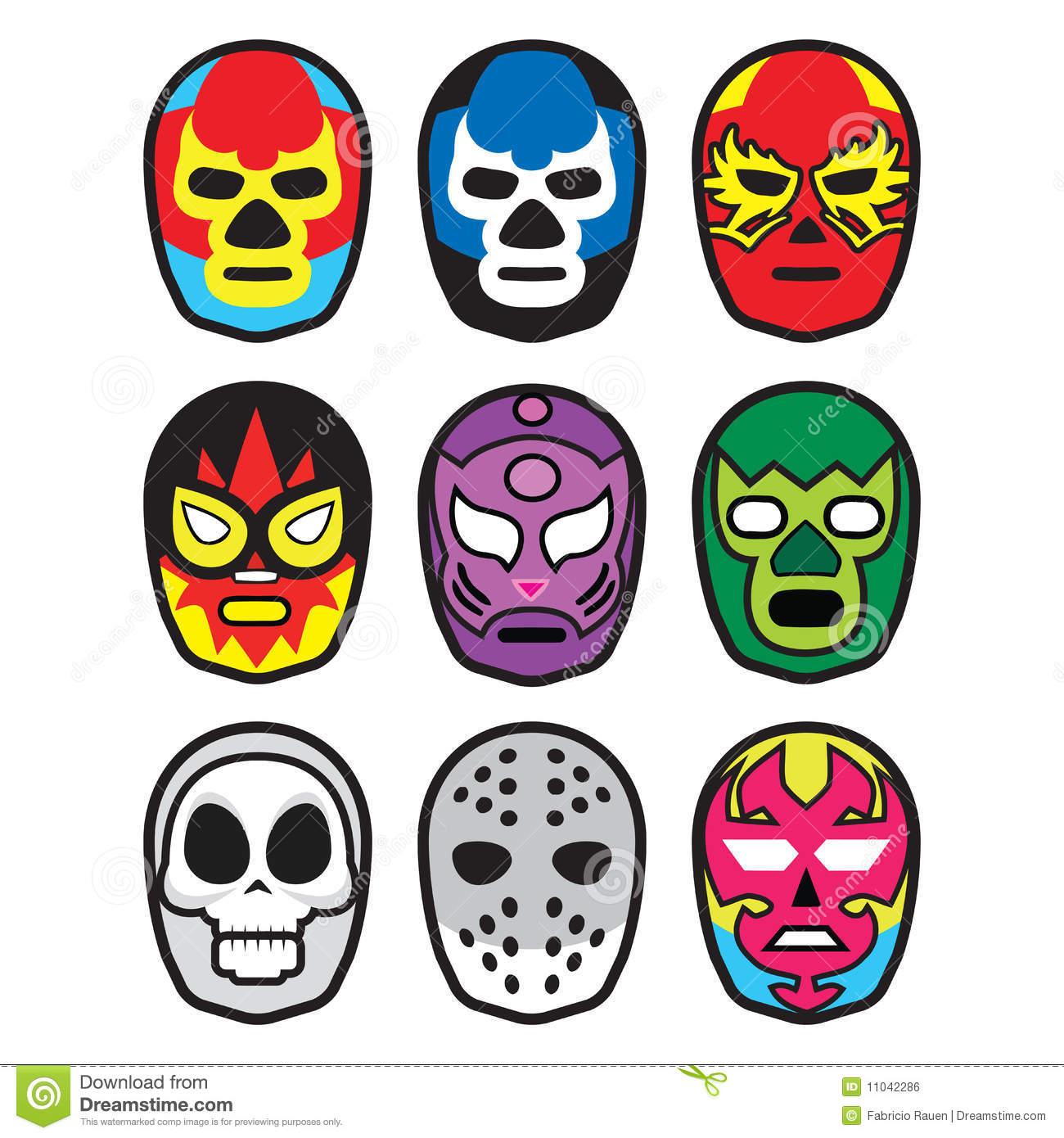 Wrestler clipart lucha libre Quality Masks Million  Wrestling