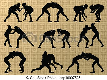 Wrestler clipart olympic sports Wrestling Search Google female clipart