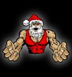 Wrestler clipart santa Clip Mascot Art Mascot Clip