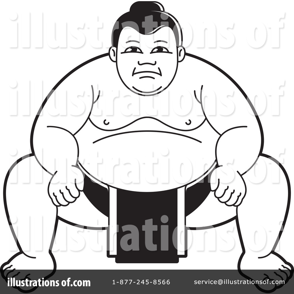 Wrestler clipart sumo wrestler Sumo by Wrestling Perera Clipart