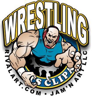 Wrestler clipart wrestling belt Wrestling Clipart Art Free Clip