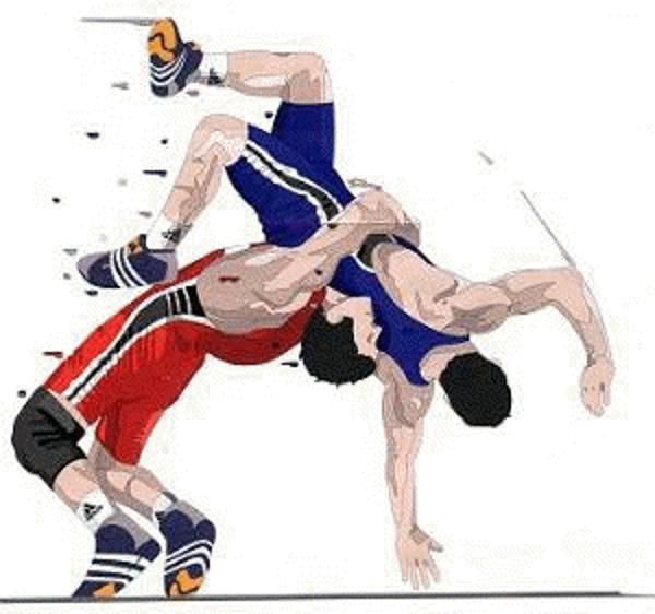 Wrestler clipart wrestling mat Clipartix sumo clipart school kid
