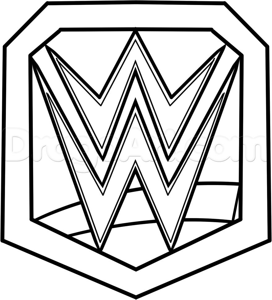 Wrestler clipart wrestling belt Coloring cakes Championship com