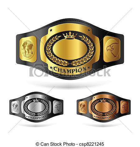 Wrestler clipart wrestling belt Champion Clipart cliparts Wrestling Belt