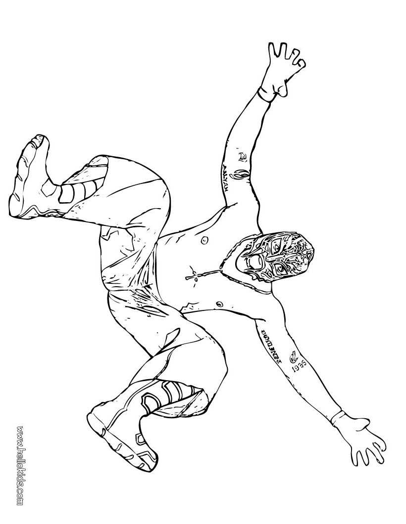 WWE clipart coloring page Printable Rey (8)[1] Wrestler coloring