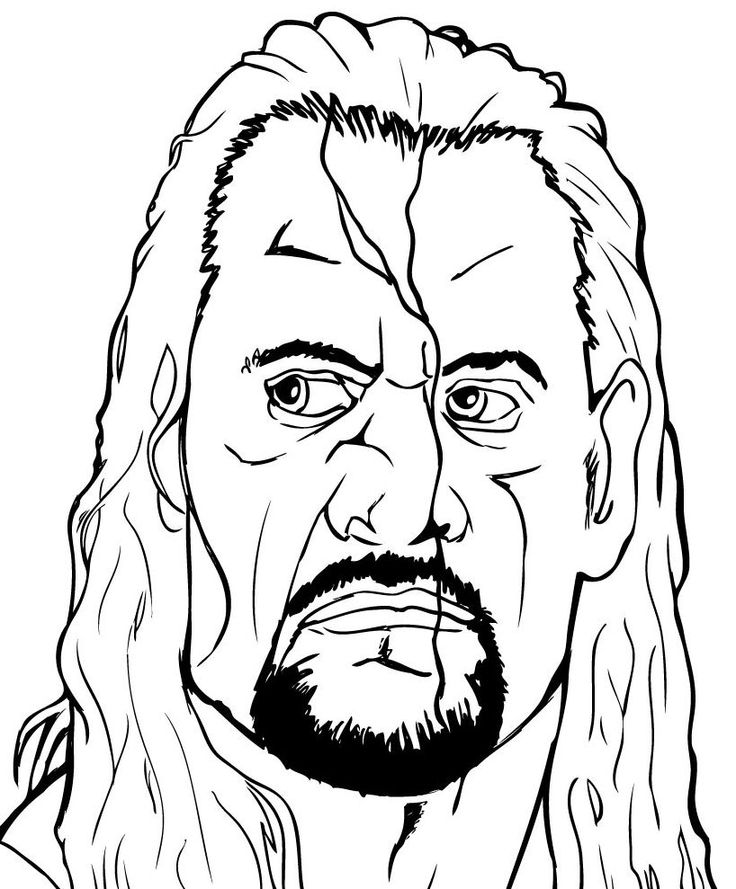 WWE clipart coloring page Coloring Pinterest this Thanksgiving Find