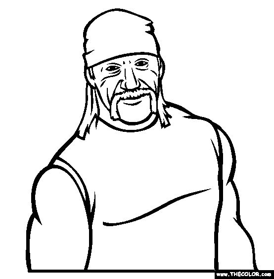 WWE clipart famous This best Coloring on Pages