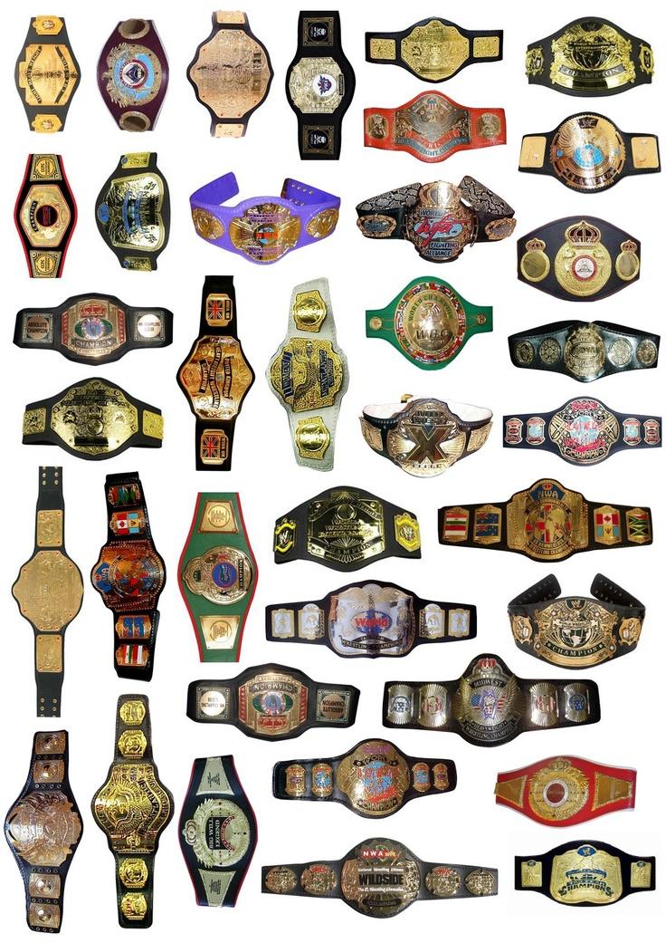 Wrestler clipart wrestling belt Belts board Title on #prowrestling