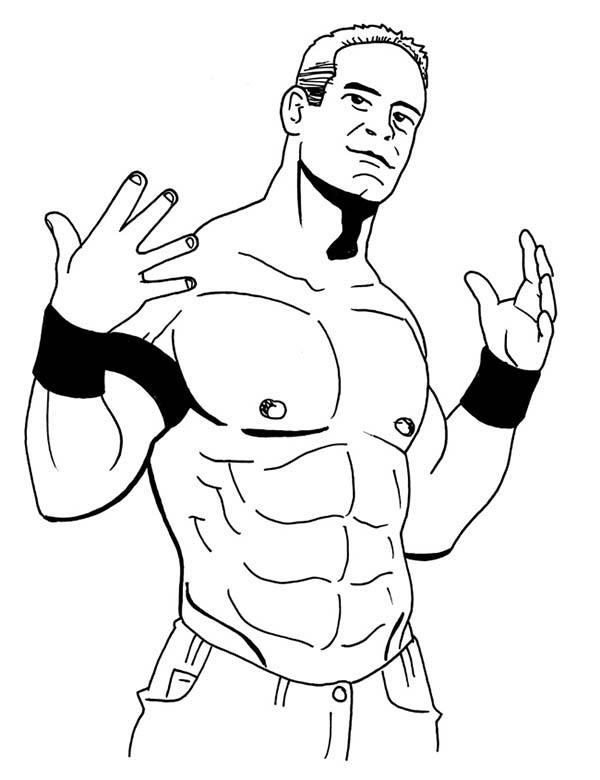 WWE clipart john cena Cena john coloring coloring 15