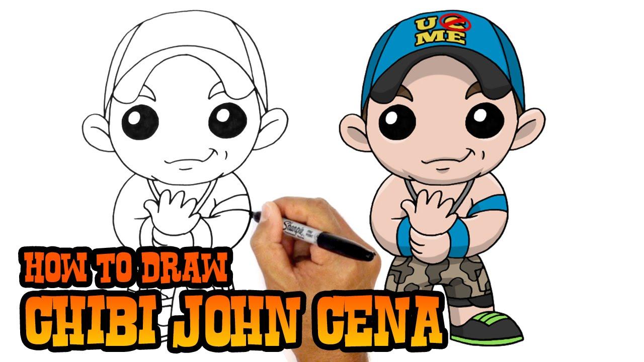 Drawn pice john cena To How WWE Cena John
