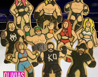 WWE clipart mma Mma Sports Hasbro COOKIES Etsy