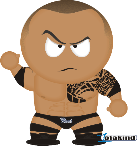 WWE clipart the rock The Dwayne Art Johnson Art