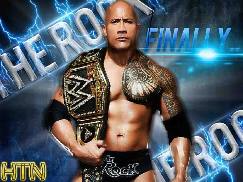 WWE clipart the rock Wallpaper WWE and The