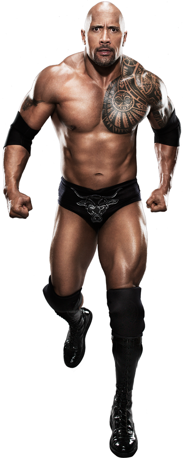WWE clipart the rock The PNG Mart Rock PNG