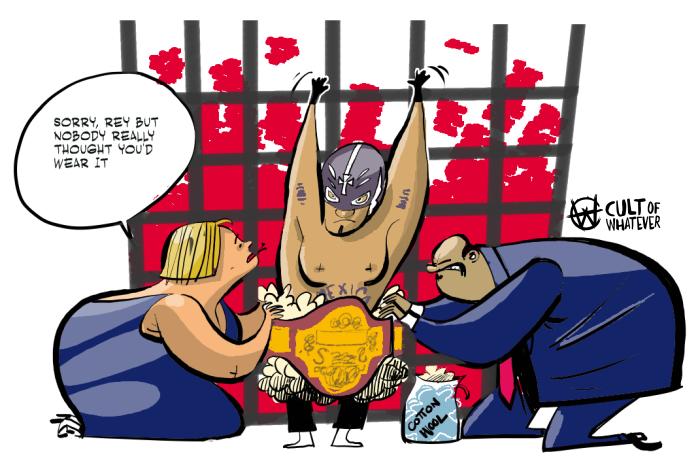 WWE clipart wrestlemania Title WWE mysterio WrestleMania rey