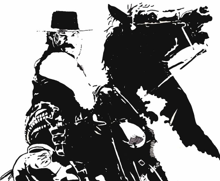 Wyatt Earp clipart black and white COMING  IS best JUSTICE