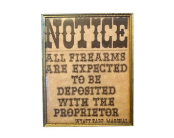 Wyatt Earp clipart border #3