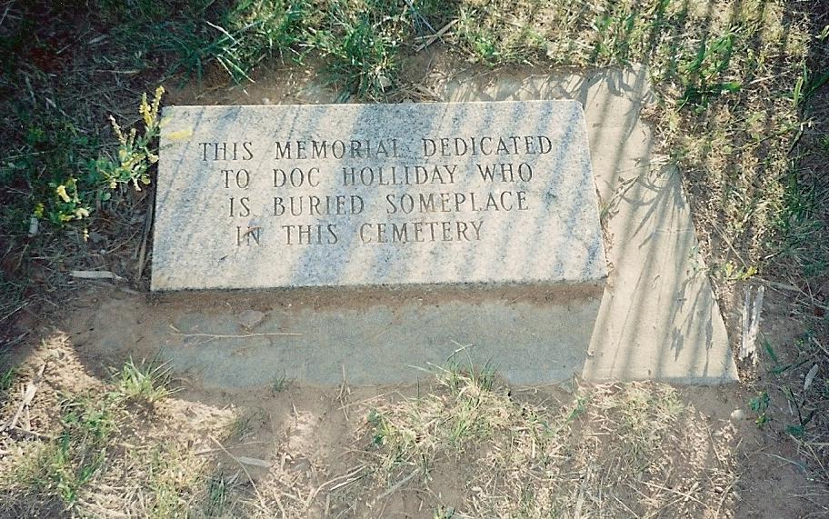 Wyatt Earp clipart burial Cemetery taken Doc in family