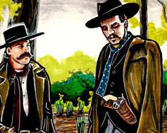 Wyatt Earp clipart funny cartoon Huckleberry 11x17 earp Your Earp
