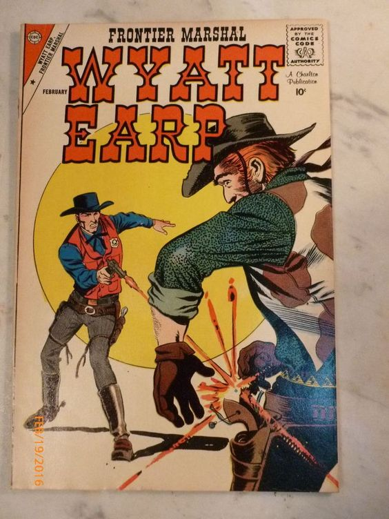 Wyatt Earp clipart funny cartoon  1959 #23 1959 PUBLICATIONS