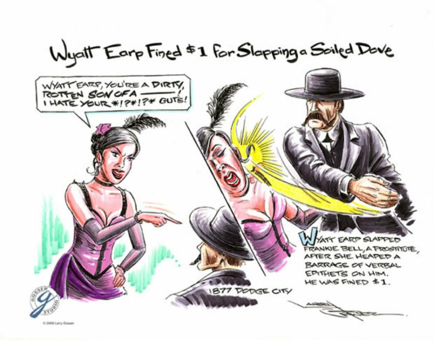 Wyatt Earp clipart funny cartoon Peace The Gosser Bell Gosser