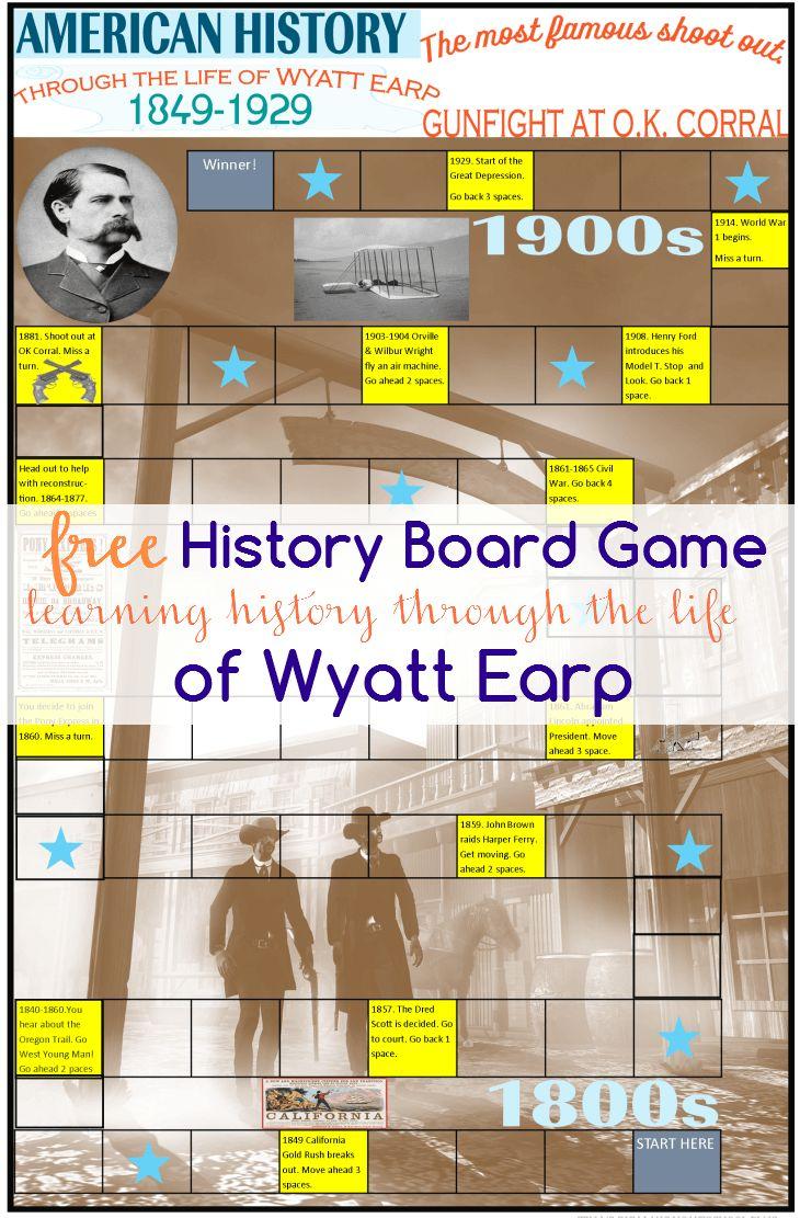 Wyatt Earp clipart printable #7
