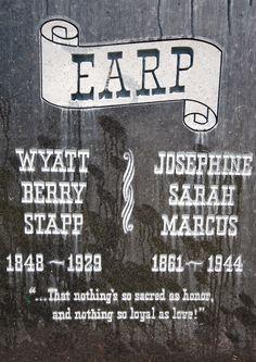 Wyatt Earp clipart rest in peace #6