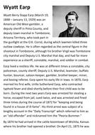 Wyatt Earp clipart template Resources Wyatt sfy773 Earp pdf