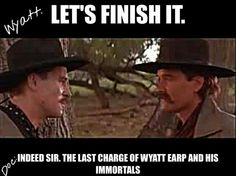 Wyatt Earp clipart tombstone cross Tombstone Doc  Doc Holliday